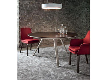 Итальянский стол EVANS 01 фабрики MINOTTI