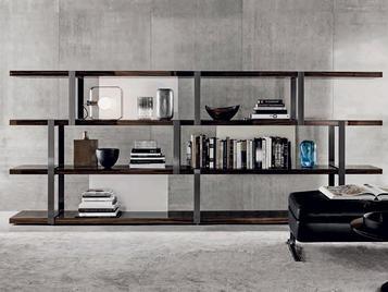 Итальянский книжный шкаф DALTON 02 фабрики MINOTTI