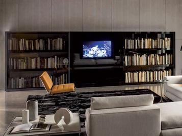 Итальянская мебель для ТВ JOHNS HI-FI фабрики MINOTTI