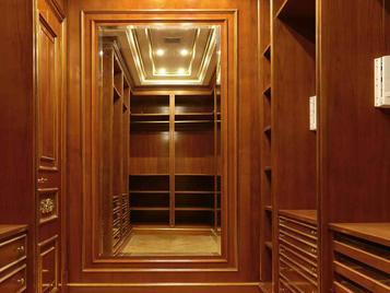 Итальянская гардеробная 9720 фабрики BELLOTTI ESIO
