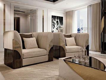 Итальянское кресло GLAMOUR фабрики TESSAROLO