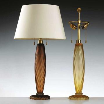 Американская настольная лампа ONDOSO фабрики DONGHIA
