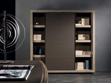 Итальянский книжный шкаф FA100 фабрики MALEBRA