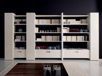 Итальянский книжный шкаф ONE AND ONLY фабрики MALERBA