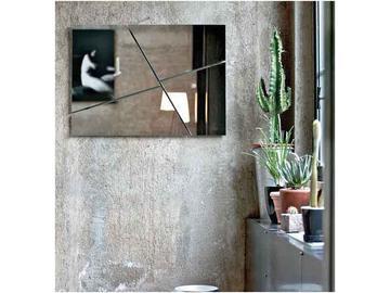 Итальянское зеркало BREAK-1 фабрики BONTEMPI CASA