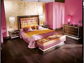 Итальянская спальня CAFÈ DES ARTS фабрики BONTEMPI CASA