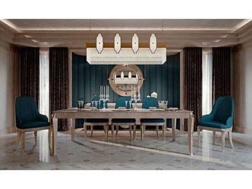 Итальянский стол и стулья Men's lounge фабрики BIANCHINI