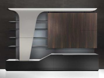 Итальянский книжный шкаф V165 фабрики ASTON MARTIN