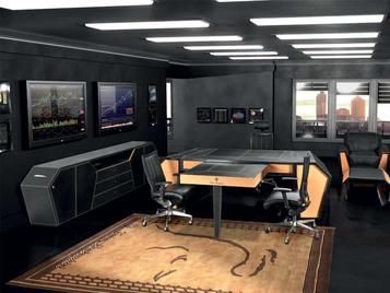 Итальянский кабинет SPIDER фабрики TONINO LAMBORGHINI