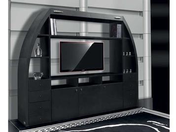 Итальянская мебель для ТВ SUPER ARCH фабрики TONINO LAMBORGHINI