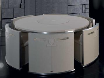 Итальянский стол CIRCUIT фабрики TONINO LAMBORGHINI