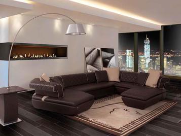 Итальянская мягкая мебель ADELAIDE фабрики TONINO LAMBORGHINI