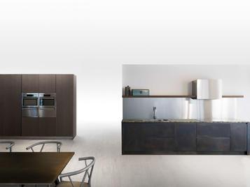 Итальянская кухня SQUARE BRUNITO NERO фабрики XERA