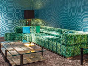 Бельгийский угловой диван CARME фабрики JNL