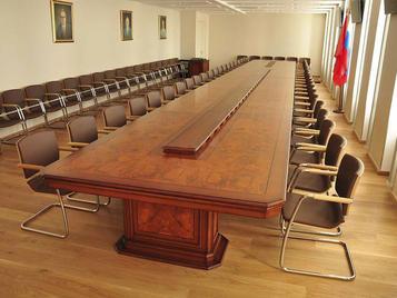 Испанский стол для переговоров PARLAMENT фабрики ALPUCH