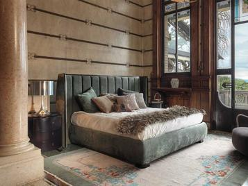 Итальянская кровать TRUST фабрики SELVA TIMELESS