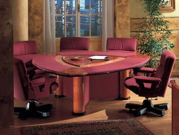 Итальянский стол для переговоров ANTARES фабрики R.A. MOBILI S.P.A.