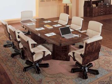 Итальянский стол для переговоров FALCON фабрики R.A. MOBILI S.P.A.