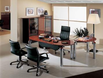 Итальянский письменный стол NUVOLA фабрики R.A. MOBILI S.P.A.