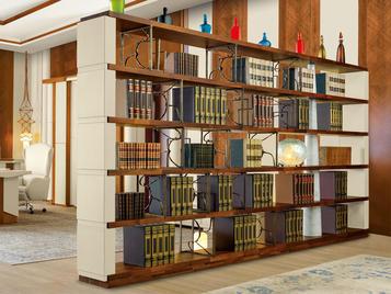 Итальянский книжный шкаф CITY BALLET фабрики MASCHERONI