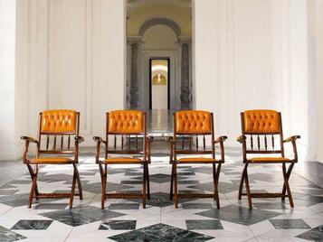 Итальянское кресло AUDITORIUM фабрики MASCHERONI