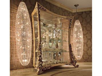 Итальянская витрина BOUQET 9000 фабрики RIVA