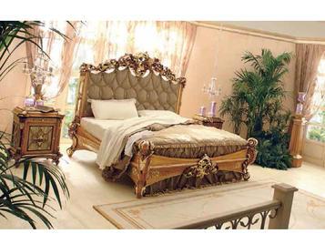 Итальянская кровать GIARDINO ITALIANO фабрики RIVA