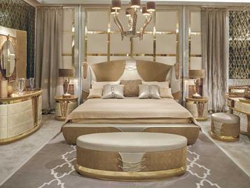 Итальянская кровать ERMES фабрики RIVA ATELIER
