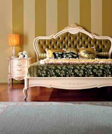 Итальянская кровать Principe Laccato фабрики Valderamobili