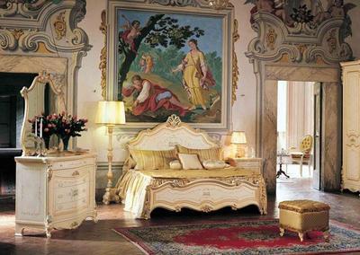 Итальянская спальня Barocco фабрики AGM