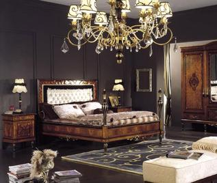 Итальянская спальня Neoclassico Gold фабрики Antico Borgo