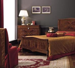 Итальянская спальня Ottocento фабрики Antico Borgo