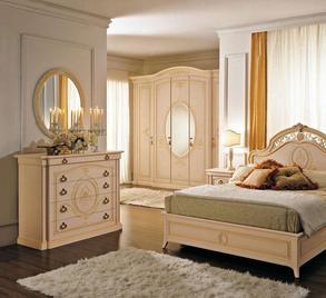 Итальянская спальня Samantha фабрики Ferretti & Ferretti