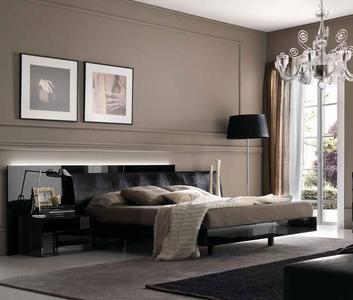 Итальянская спальня Nightfly Black фабрики Armobil