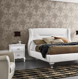 Итальянская кровать Symfonia Avorio фабрика Dall`Agnese