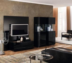 Итальянская гостиная Nightfly Black фабрики Armobil