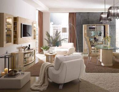 Итальянская гостиная Mon Amour Acero фабрики Domus