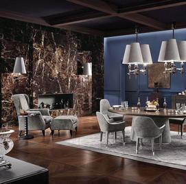 Итальянские гостиные Master Collection фабрики Smania