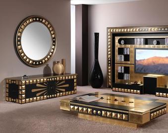 Итальянская мебель для ТВ из коллекции PIRAMID фабрики VISMARA DESIGN