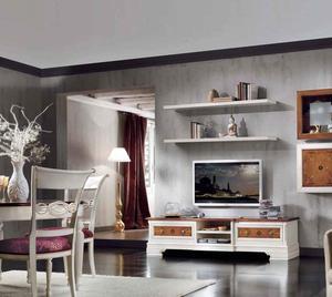 Итальянская мебель для TV Infinity фабрики Zancanella Renzo