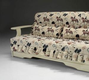 Итальянский диван-кровать LANGAWI фабрики LES COUSINS S.r.l.