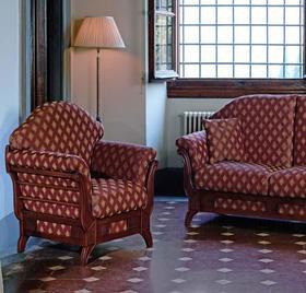 Итальянская мягкая мебель VERSAILLES фабрики  LES COUSINS S.r.l.