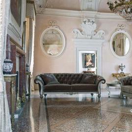 Итальянские диваны и кресла CLASSIC фабрики VENETA SEDIE