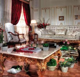 Итальянская мягкая мебель Gold фабрики Asnaghi Interiors