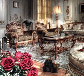 Итальянская мягкая мебель Gold Vol II фабрики Asnaghi Interiors