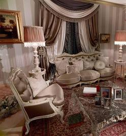 Итальянская мягкая мебель La Boutique фабрики Asnaghi Interiors
