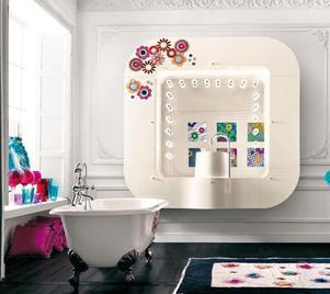 Итальянские ванные комнаты Cat Pop фабрики Alta Moda